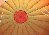 Inside a hot air balloon — Stock Photo