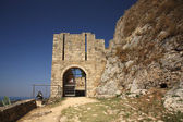 Entrance to Ayios Georgios Castle — Stock Photo