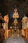 à l'intérieur d'une église grecque — Photo