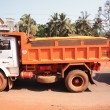Stock Photo: Dumper Truck India