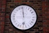 Clock at Greenwich — Stock Photo