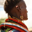 Tribal woman — Stock Photo