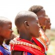 Stock Photo: Female dancers of Samburu tribe