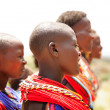 Female dancers of the Samburu tribe — Foto Stock