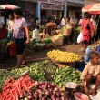 Fruit and vegetable market Goa — Stock Photo