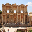 Celsus Library at Ephesus — Stock Photo