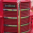 Front grill of a vintage Bedford Bus — Stock Photo