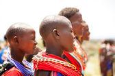 Female dancers of the Samburu tribe — Stock Photo