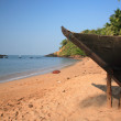 Stock Photo: Outrigger on Colbeach