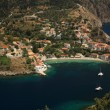 Looking down onto Assos — Stock Photo