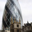 Stock Photo: Gherkin of London