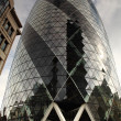Stock Photo: Looking up at Gherkin London