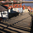 Stock Photo: 99 steps at Whitby