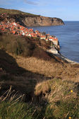 View to Robin Hoods Bay — Stock Photo