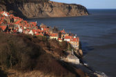 Robin Hoods Bay view — Stock Photo