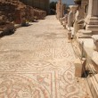 Stock Photo: Mosiac street Ephesus Turkey