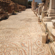 Mosiac street Ephesus Turkey — Stock Photo