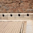 Stock Photo: Latrines at Ephesus