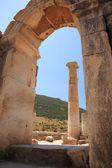 View through the arch Ephesus — Stock Photo