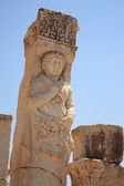 Historical statue at Ephesus — Stockfoto
