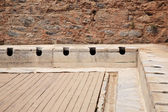 Latrines at Ephesus — Stock Photo