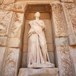 Sophia, the statue of Wisdom at Ephesus — Stock Photo