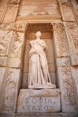 Sophia, the statue of Wisdom at Ephesus — Stock Photo