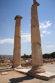 2 ancient columns at Ephesus — Stock Photo