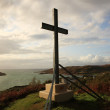 Morar cross on the hill — Stock Photo #31105161