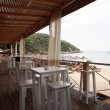 Beach bar, Skiathos — Stock Photo