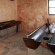 Washroom block, Auschwitz concentration camp — Stock Photo #31232459