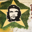 Picture of Che Guevara on a wall — Stock Photo