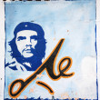 El Che portrait on a wall — Stock Photo #31235675
