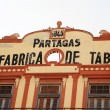 Real Fabrica de Tabacos Partagas — Stock Photo