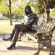 Statue of John Lennon Cuba — Stock Photo