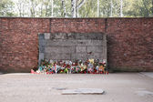 Execution wall, Auschwitz — Stock Photo
