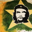 Stock Photo: Che Guevarpainting