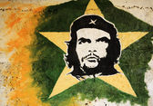 Che Guevara painting — Stock Photo
