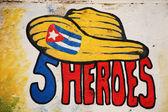 Cinque eroi cuba — Foto Stock