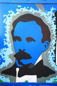 Painted picture of Jose Marti — Stock Photo