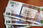 Dix notes de peso cubain convertible — Photo