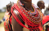 African jewellery — Stock Photo