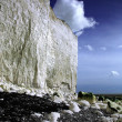 White cliffs at Birling Gap — Stock Photo