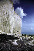 White cliffs at Birling Gap — Stockfoto