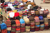 Fez market stall — Stock Photo