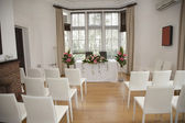 Wedding Ceremony room — Stock Photo