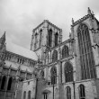 Black & White York Minster — Stock Photo #32458697