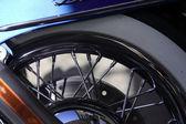 Rueda de la motocicleta — Foto de Stock