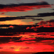 Stock Photo: Panoramic view of fire in sky