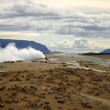 Stock Photo: Amazing geothermal landscape